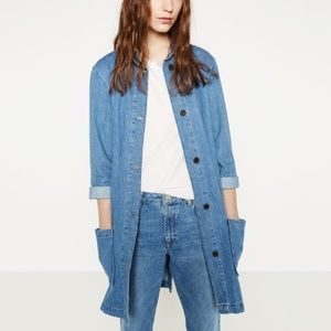 Zara Women The Levita Style: Frock / Smock Coat